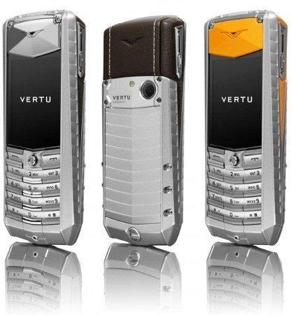 Nuevos móviles Vertu Ascent 2010 en aluminio y titanio