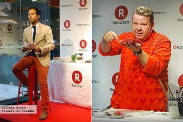 La tienda virtual Rakuten presenta sus productos en Madrid de la mano de Chicote