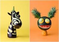 Nunca fue tan divertido usar vegetales: los alocados monigotes de Carl Kleiner