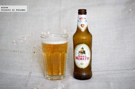 cata de cerveza Birra Moretti - 3
