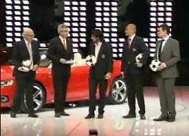 Presentación de Audi en el Salón de Ginebra: 100 aniversario y la Audi Cup