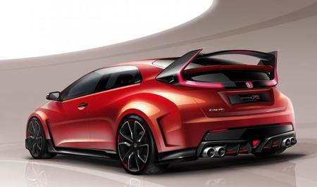Así luce el Honda Civic Type-R Concept
