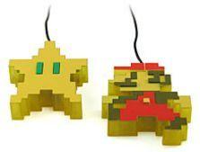 Ratón USB de Super Mario