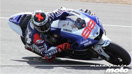 Jorge Lorenzo en Jerez