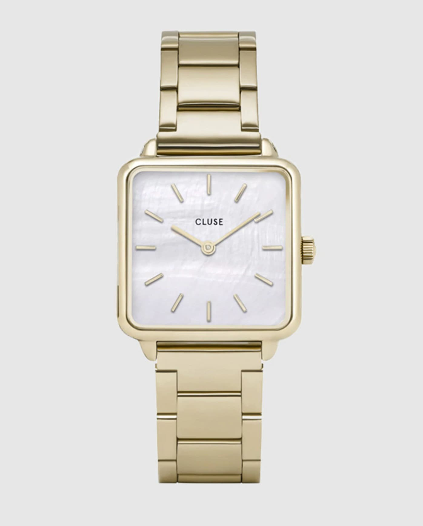 Reloj de mujer Cluse CL60026S de acero dorado