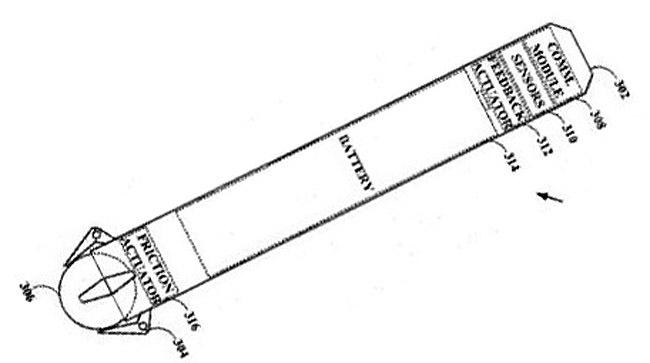Patente Stylus Sony