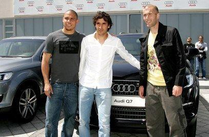 Real Madrid y Audi Q7