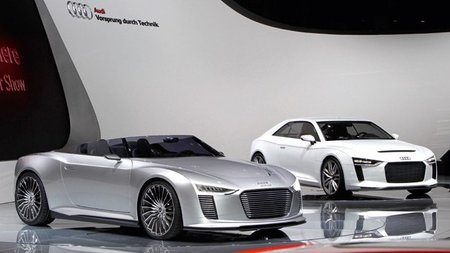 Audi también se apunta al bombardeo eléctrico