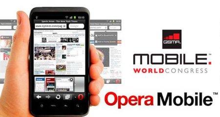 Opera estará en el MWC, navegadores más sociales y pagos para móviles