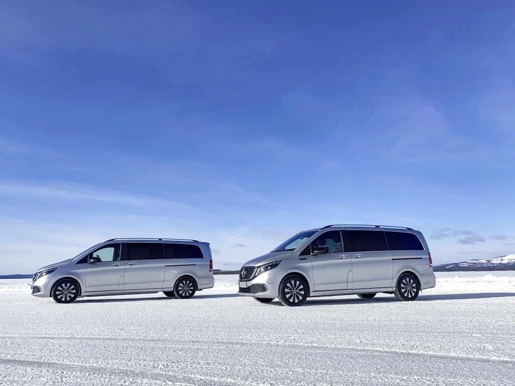 Mercedes-Benz EQV, la furgoneta eléctrica