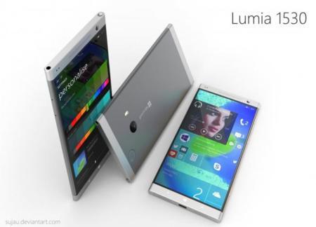 Este Lumia 1530 no es real pero nos encantaría que lo fuera