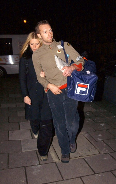 Chris Martin y Gwyneth Paltrow
