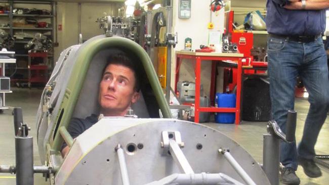 James Toselan y el récord mundial de Velocidad