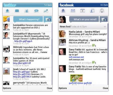 Nokia Messaging 2, con Facebook mejorado y estreno de soporte Twitter