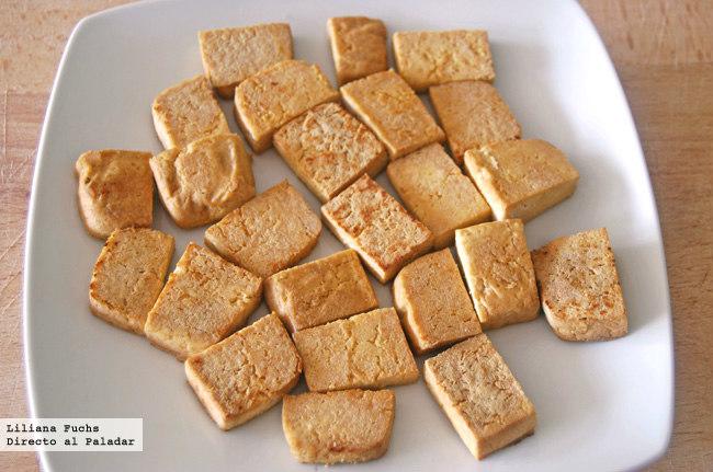 c mo cocinar tofu receta de tofu firme salteado