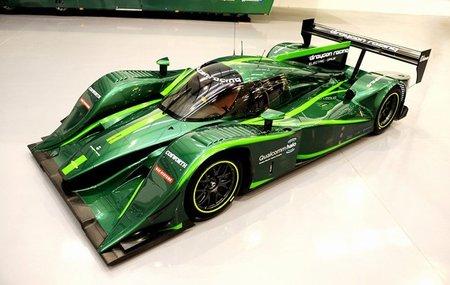 El Lola-Drayson LMP1 eléctrico en movimiento