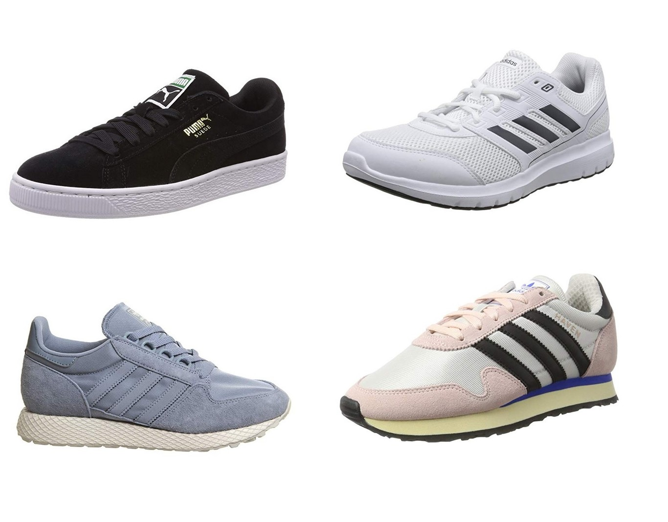 3431678a6 Chollos en zapatillas Adidas y Puma con tallas sueltas desde 22 euros en  Amazon