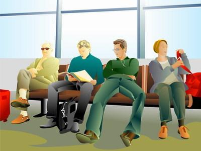 La sala de espera