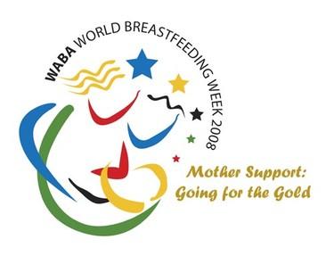 Semana mundial de la lactancia materna 2008