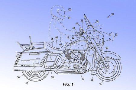 Harley-Davidson quiere adelantar tecnológicamente a KTM o Ducati con frenada automática y control de crucero adaptativo vía GPS