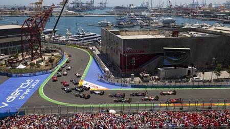 Camps Valencia Formula 1