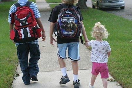 Seguridad vial en el camino al colegio