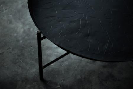 Ikea Coleccion Svartan 2016 Ph135859 Mesa Bandeja Acero Revestimiento Polvo 73x30cm Negro Lowres