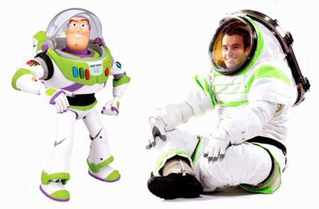traje espacial Nasa Buzz Lightyear 2