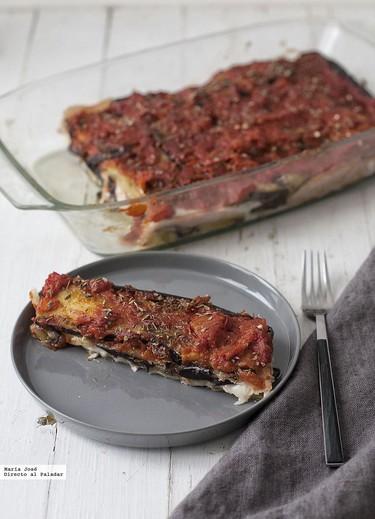 Guarnición de berenjenas con tomate. Receta deliciosa