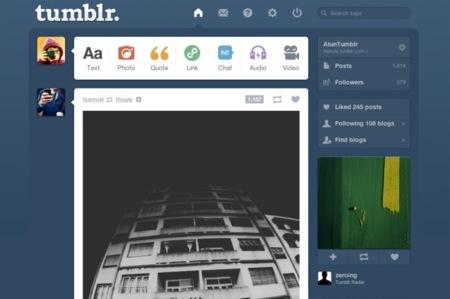 Tumblr incluirá publicidad en sus interfaces móviles para ser rentable