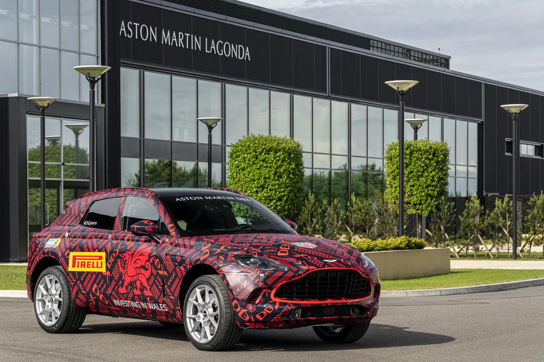 Foto de Aston Martin DBX, preproducción (20/23)