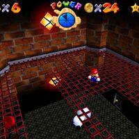 Super Mario 64: cómo conseguir la estrella Seek the 8 Red Coins de Big Boo's Haunt