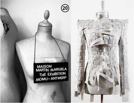 Exposición de Maison Martin Magiela en el Museo de la Moda de Amberes