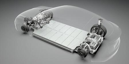 Tesla batería panasonic