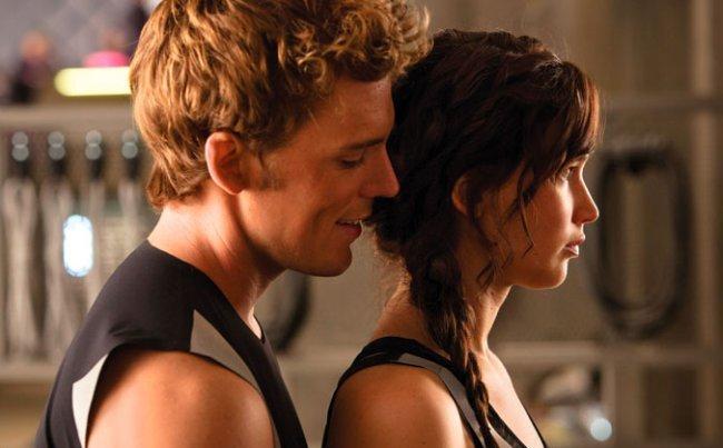 Sam Claflin y Jennifer Lawrence son Finnick y Katniss en Los Juegos del Hambre: En Llamas