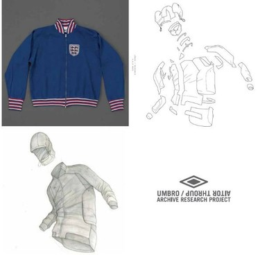 'Archive Research Project' una colaboración de Aitor Throup para Umbro