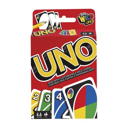 Mattel Games Uno Classic Juego De Cartas