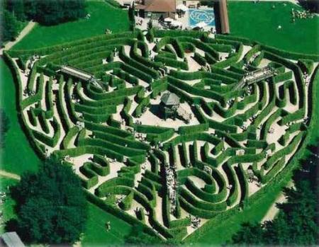 El laberinto de Drielandenpunt (Holanda)