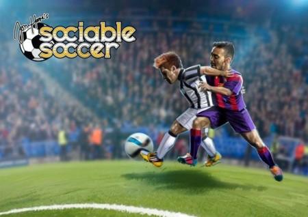 Sociable Soccer es el sucesor de Sensible Soccer y quiere nuestro dinero para salir a flote