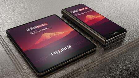 Fujifilm Smartphone Plegable 04