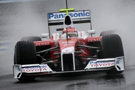 Timo Glock el más rápido bajo la lluvia en Jerez