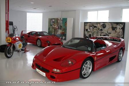 Cars & Art Ferrari F40 y Ferrari F50