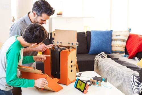 Análisis de Nintendo Labo: Robot. Más espectacular que el Kit variado, pero con menos posibilidades