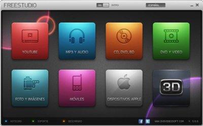 FreeStudio, una navaja suiza para tus archivos multimedia