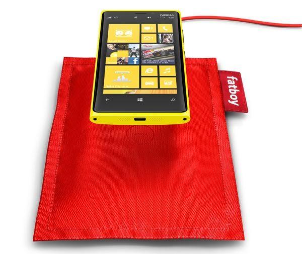 Nokia Lumia 920 carga inalámbrica