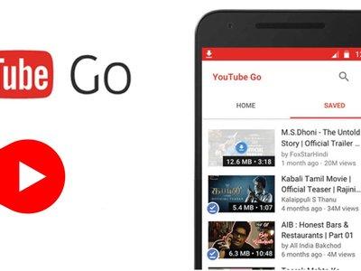 YouTube GO, la versión ligera de YouTube y con descarga de videos, ya está aquí