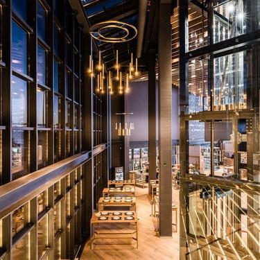 Más de 4000 metros cuadrados de restaurante creado por Rui Costa: Bálamo Madrid