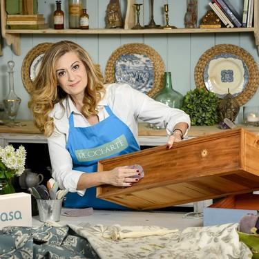 Canal Decasa estrena el lunes la sexta temporada de Reciclarte. Y los muebles de los espectadores van a ser los protagonistas