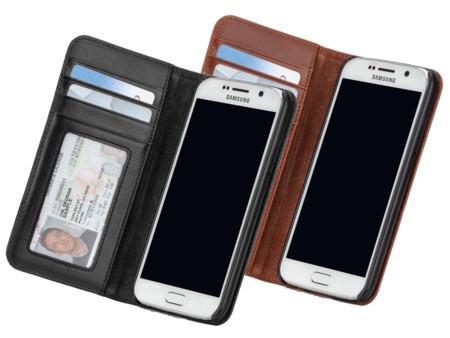 Case Mate Wallet Folio Leren Case Hoesje Samsung Galaxy S6 Cm032333 Cm032335