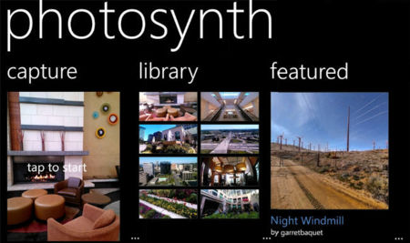 Photosynth ya está disponible para Windows Phone